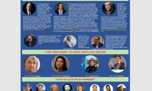 INTERNATIONAL VIRTUAL CONFERENCE ABOUT CHINA'S ONGOING GENOCIDE AGAINST UYGHURS
