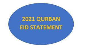 2021 QURBAN EID STATEMENT