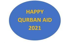 HAPPY QURBAN AID 2021